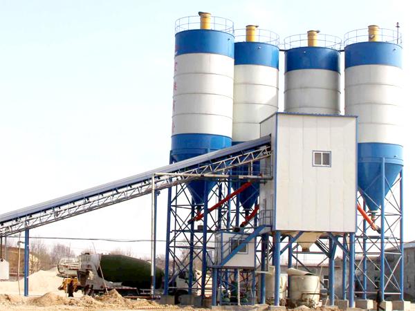 AJ-120 concrete mix plant