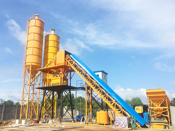 HZS90 batching plant