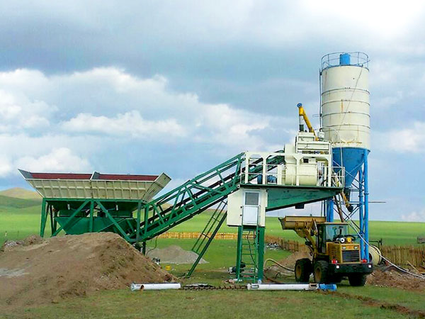 AJY-25 mobile plant