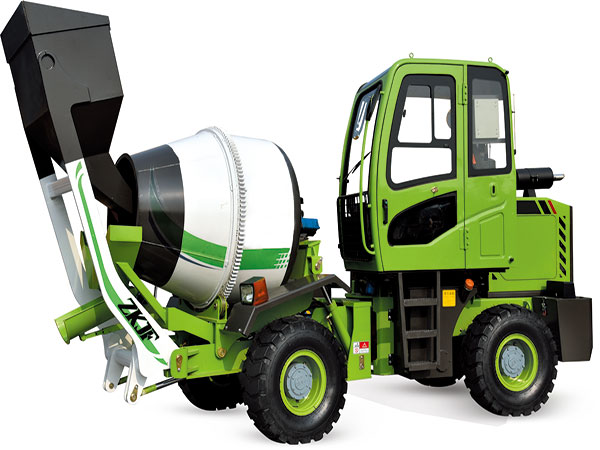 1.2 cub self loading concrete mixer for sale