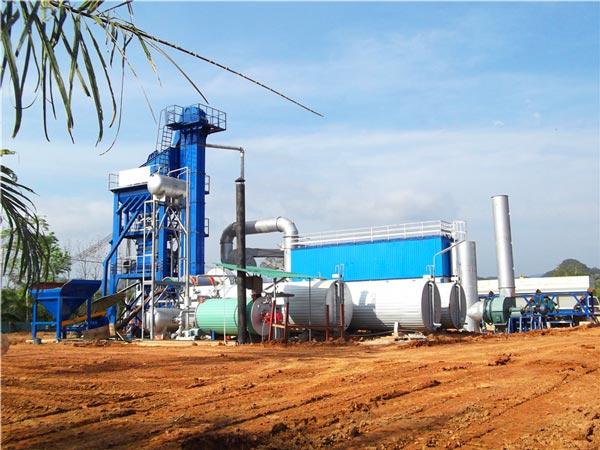 175t asphalt mixing plant