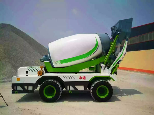 4.0 cub self loading transit mixer