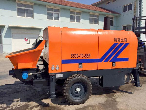 BS30D diesel concrete pump