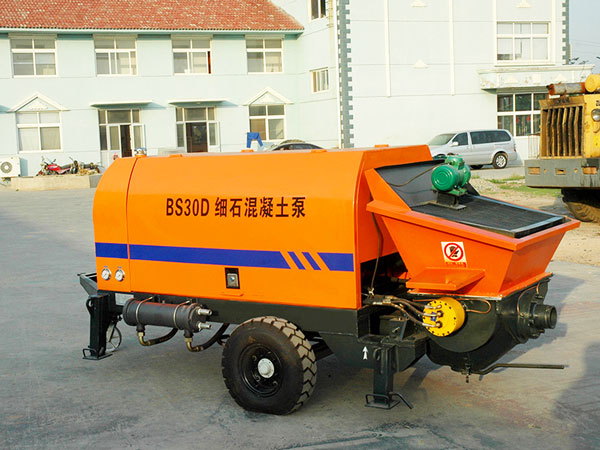 BS30D portable diesel concrete pump