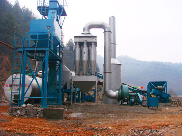 DHB80 asphalt drum plant