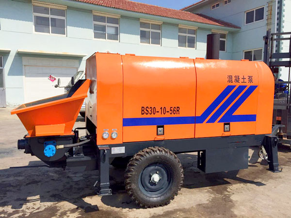 HBT30R diesel small concrete pump
