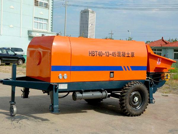 HBT40 electric small concrete pump