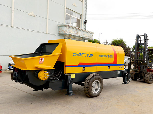 HBT80 electric portable cement pump