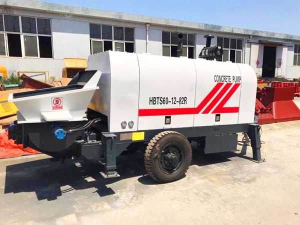 HBTS60 portable diesel concrete pump