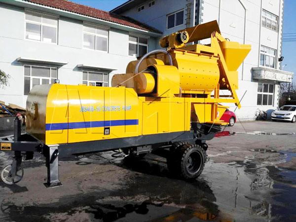 ABJS40C-JS500 compulsory concrete mixer pump