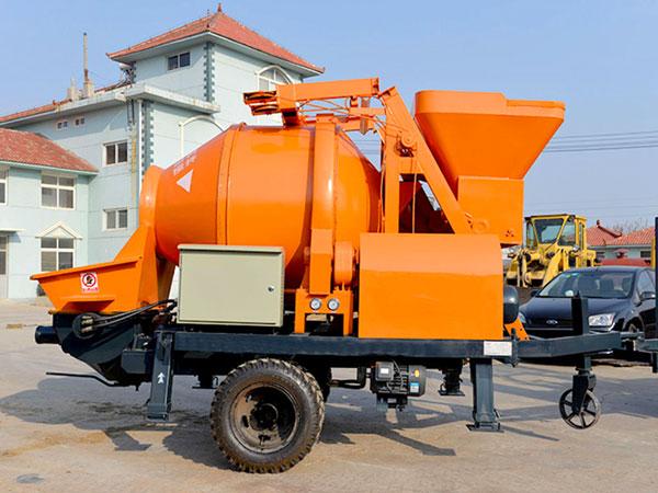 JBS40R-JZC350 diesel concrete mixer pump