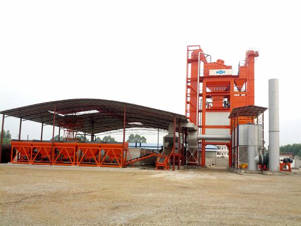 LB2500 asphalt plant