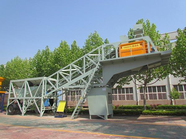 YHZS75 portable concrete plant