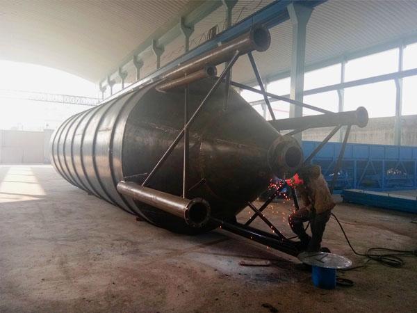cement silo welding