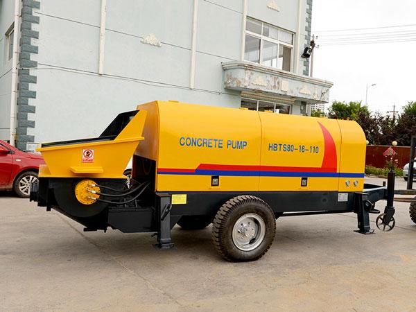 diesel concrete pump HBT80-SR