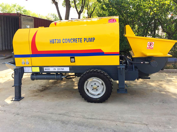 HBTS30 electric concrete trailer pump