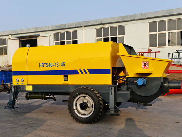 HBTS40 electric concrete pump trailer for sale