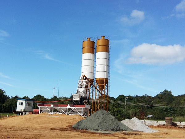 hzs35 precast concrete plant