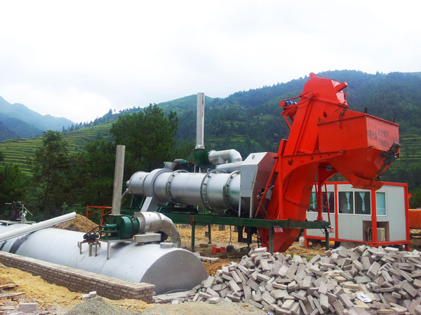 DHB60 asphalt drum mix plant