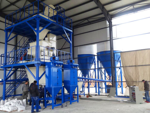GJ15 dry mortar mixer machine