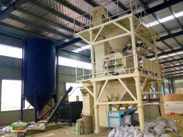 GJ20 dry mix mortar production line