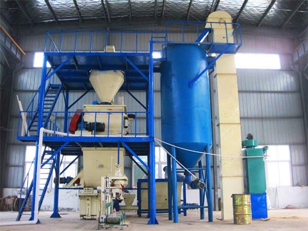 GJ30 dry mix mortar plant