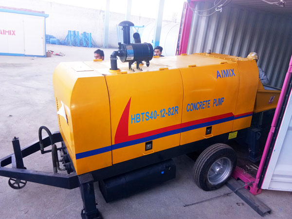 HBTS40-12-82R diesel concrete pump