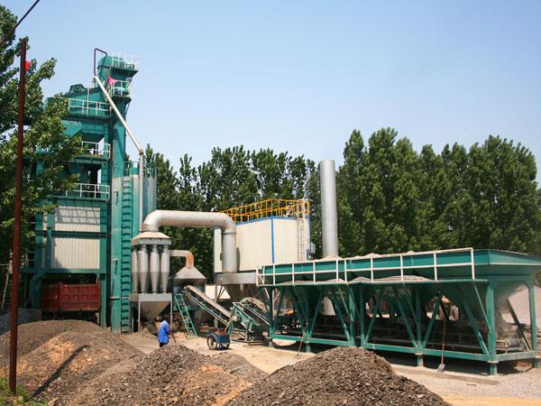 ALQ80 asphalt batching plant