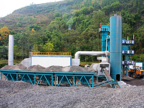 ALQ160 asphalt mixing plant