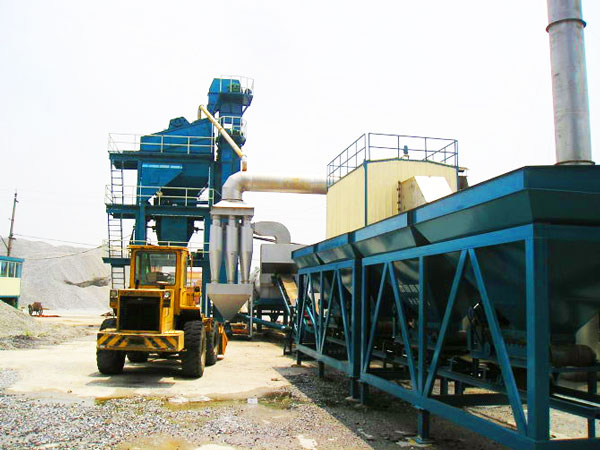 LB800 asphalt batch mix plant