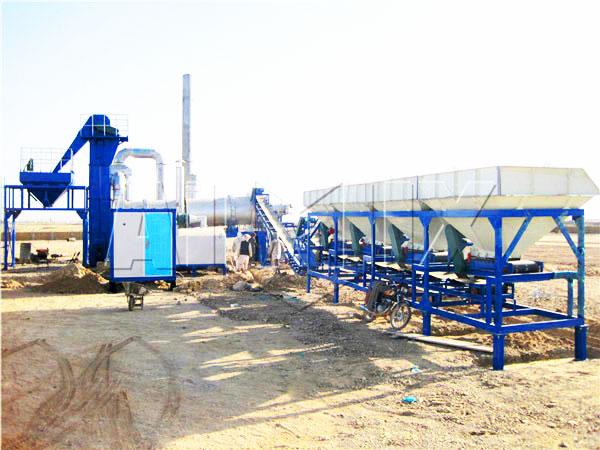 QLBY-10 mini asphalt mixing plant