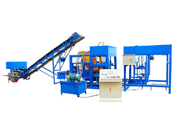 QT4-25 interlocking brick machine for sale Pakistan