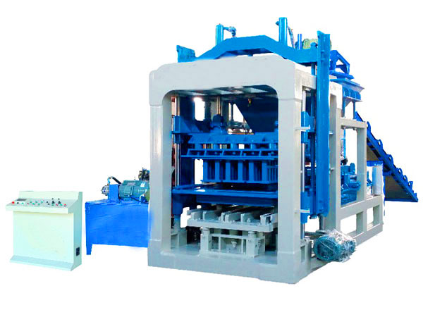 QT3-15 semi automatic brick making machine