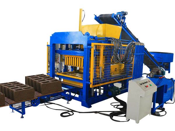 QT4-25 fully automatic brick making plant