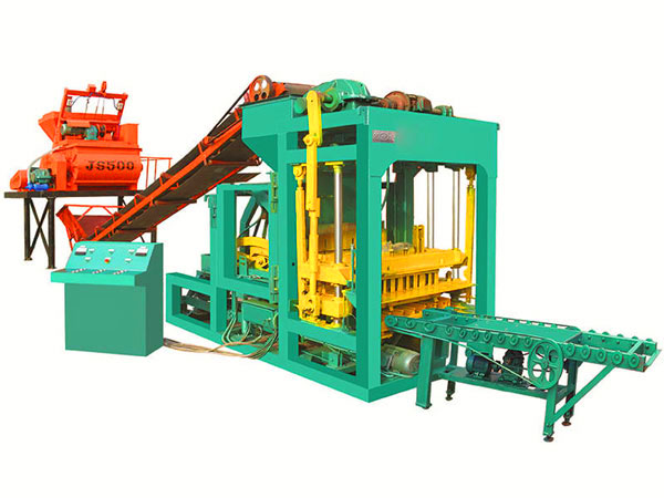 QT6-15 fully automatic brick making machine