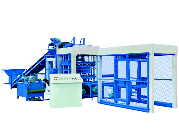 QT8-15 semi automatic block making machine