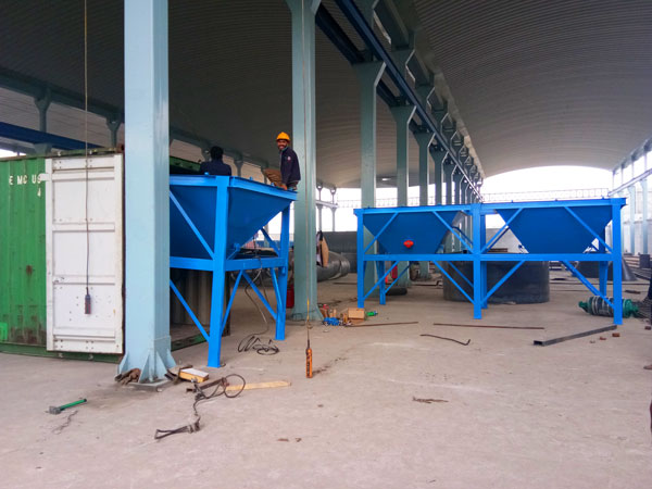 batching machine of stationary concrete plant