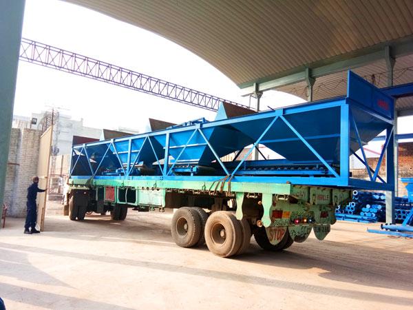 concrete batching machine of concrete plant