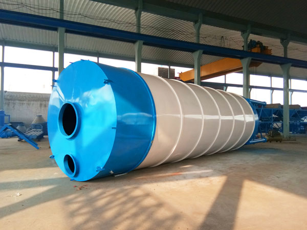 100T Welded Type Cement Silo