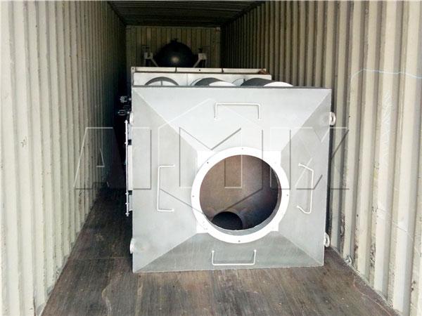 120t asphalt plant shipment