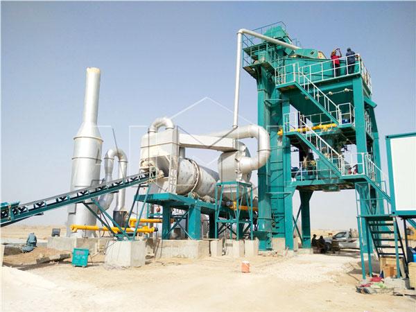 120t stationary asphalt plant Karachi