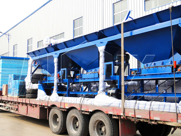 40t drum mix plant to Myanmar