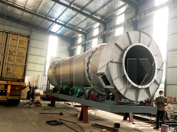 60t mobile asphalt plant to Botswana