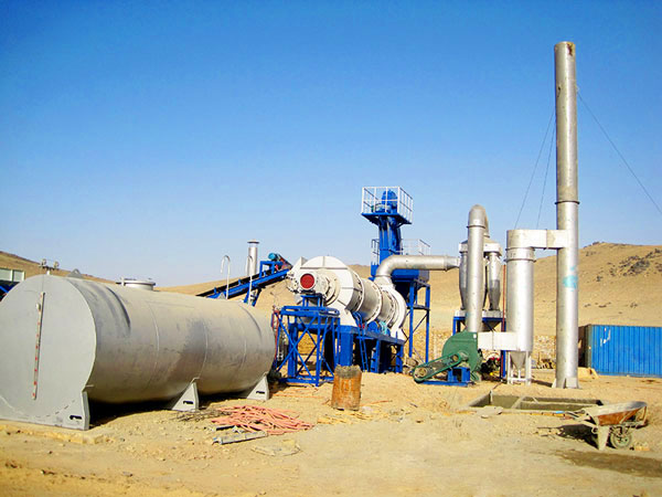 DHB20 asphalt drum mix plant