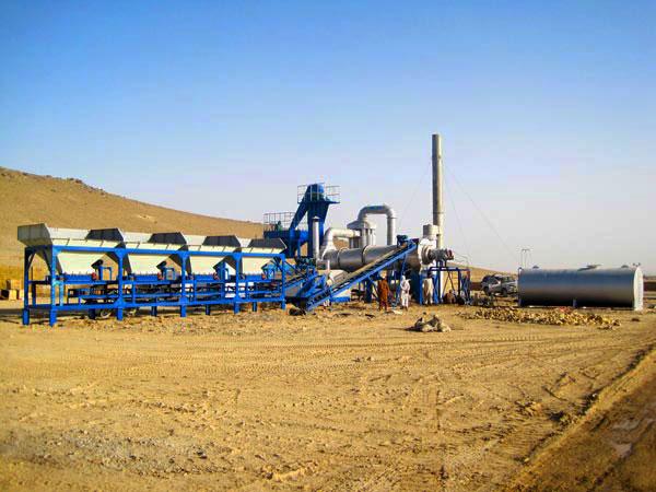 DHB40 continuous drum type asphalt plant
