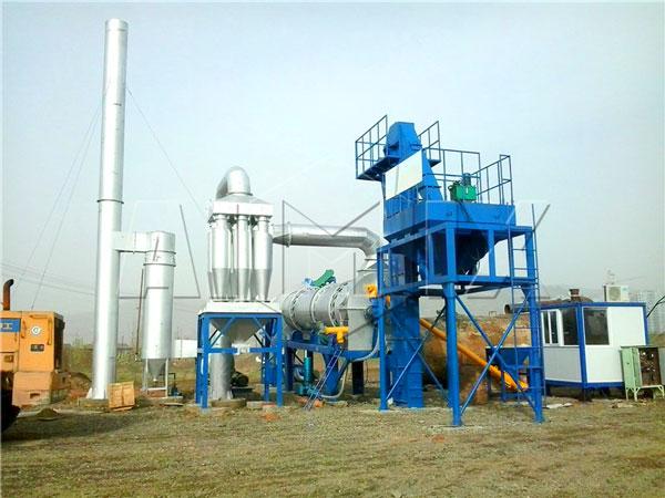 DHB60 mobile asphalt plant