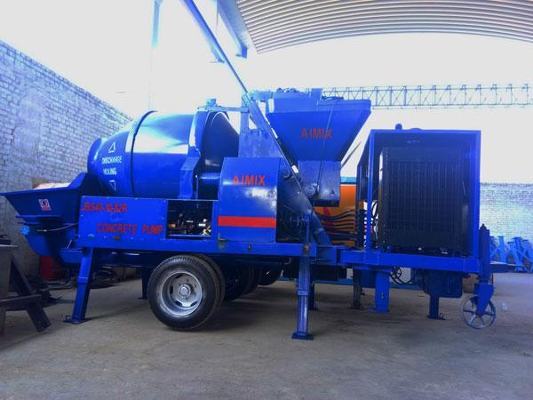 JBS40-10-82R diesel concrete pump mixer