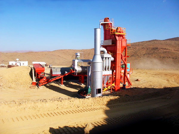 LB800 small portable asphalt mixing plant