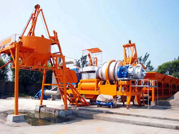 QLBY-30 mobile asphalt drum mix plant