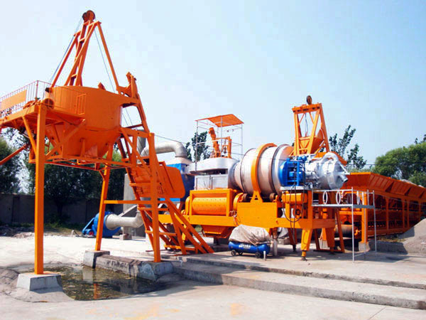 QLBY-30 mobile asphalt mixing plant